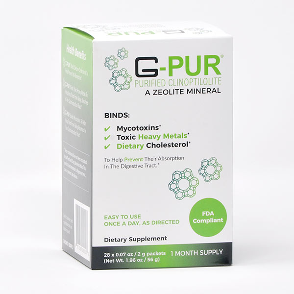 Packaging for G-Pur 1-month supply