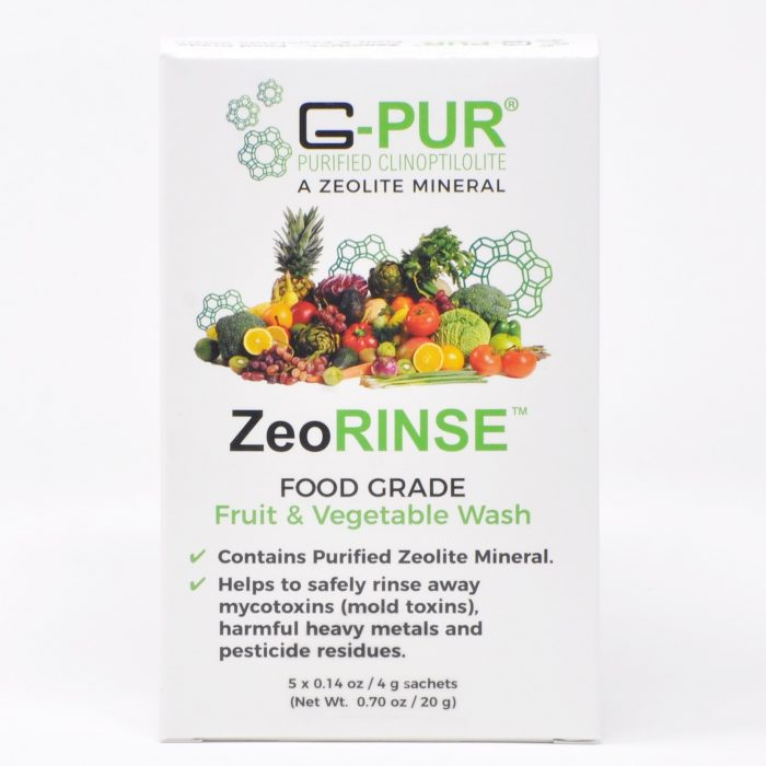 ZeoRINSE - fruits and vegetables face wash